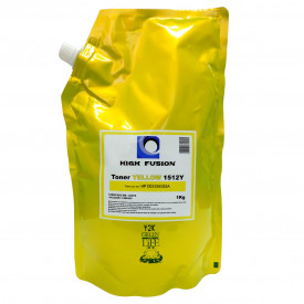 PÓ PARA TONER HP HF1512 YELLOW 1KG HIGH FUSION