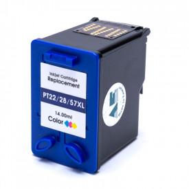CARTUCHO DE TINTA COMPATÍVEL HP 22XL 28XL 57XL C9352/C8728/C6657 3653/3910/4110/PSC1403 MICROJET