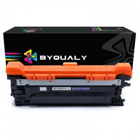 TONER COMPATÍVEL COM HP CE250X/CE400X | CP3525/CP3525N/CP3525DN | BK - 10.5K - BYQUALY