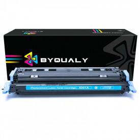 TONER COMPATÍVEL COM HP Q6001A 2600 | 1600/2600/2600N/2600DTN/2605DN/CM1015/CM1017 | CY - 2K - BYQUALY