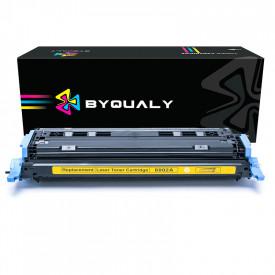 TONER COMPATÍVEL COM HP Q6002A/2600 | 1600/2600/2600N/2600DTN/2605DN/CM1015/CM1017 | YL - 2K - BYQUALY