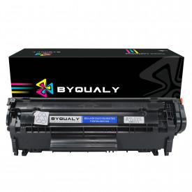 TONER COMPATÍVEL HP Q2612A | 1010/1012/3050 | BK - 2K - BYQUALY