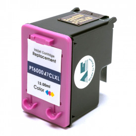 CARTUCHO DE TINTA COMPAT͍VEL COM  HP 46XL | COLOR - 13ML - MICROJET