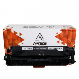 TONER COMPATÍVEL COM HP 530A/410A/380A | M351/M476/CP2025/CM2320 | BK - 3.5K - ARES