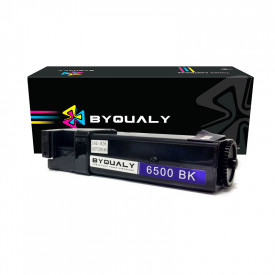 TONER COMPATÍVEL COM XEROX 106R01597   P6500/WC6505   BK - 3K - BYQUALY