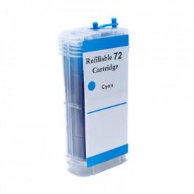 CARTUCHO DE TINTA COMPAT͍VEL COM  HP 72 |C9371A/T770/T1120/T1200/T1300/T2300| CY - 130ML