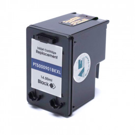 CARTUCHO DE TINTA COMPAT͍VEL COM  HP 901XL |CC654AB/4500/J4540/J4550/J4580/J4660/J4680| BK - 14ML - MICROJET