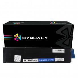 TONER COMPATÍVEL COM OKIDATA B410/B420   B430/B440/MB460   BK - 7K - BYQUALY