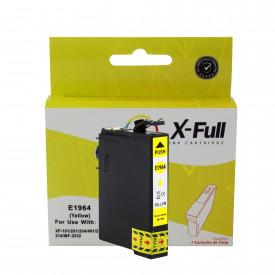 CARTUCHO DE TINTA COMPATÍVEL COM EPSON TO1944/TO1964   XP101/XP201/211/XP214/401/411/WF2532   YL - 13,5ML - X-FULL