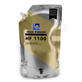 PÓ PARA TONER COMPATÍVEL COM KYOCERA HF1100 UNIVERSAL | MONOCROMATICO - BAG 1KG - HIGH FUSION