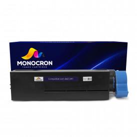 TONER COMPATÍVEL COM OKIDATA B431   B431D/B431DN/B431DN/MB491   BK - MONOCRON