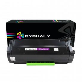 TONER COMPATÍVEL COM LEXMARK MX510/MX511/MX610/MX611   MX510DE/MX511DTE/MX610DW   BK - 20K - BYQUALY