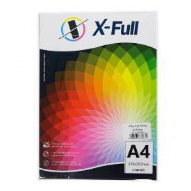 PAPEL FOTOGRÁFICO HIGH GLOSSY 230G A4 PACOTE C/ 50 FOLHAS - X-FULL