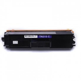 TONER COMPATIVEL COM BROTHER TN315/325/345/375/395 CYAN 2,5K BYQUALY