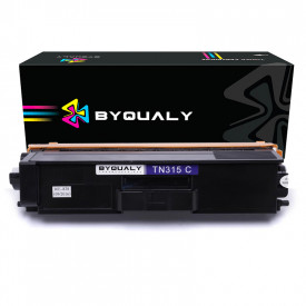 TONER COMPATIVEL COM BROTHER TN315C/325/345/375/395   HL4150/HL4570/MFC9460   CY - 2.5K - BYQUALY