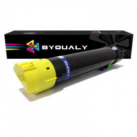 TONER COMPATIVEL COM XEROX 6700   6700DN/6700DT/6700DX/6700N   YL - 12K - BYQUALY