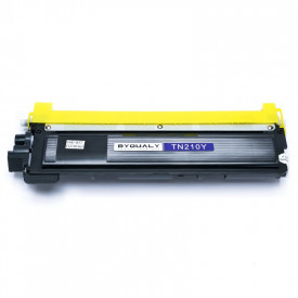 TONER COMPATIVEL COM BROTHER TN210/230/240/270/290 YELLOW 1.4K BYQUALY