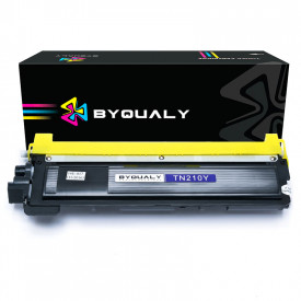 TONER COMPATIVEL COM BROTHER TN210/230/240/270/290   MFC9010CN/HL3070CW   YL - 1.4K - BYQUALY