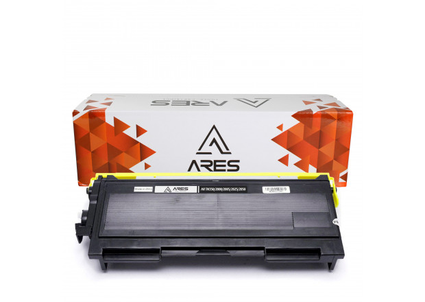 TONER COMPATÍVEL C/ BROTHER TN350 | DCP7010/DCP7020/HL2040 | BK - 2.5K - ARES